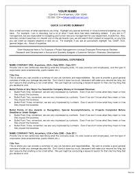 Breathtaking Recruiter Resume Ideas Collection Entryvel Format The