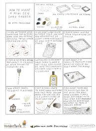 how to miniature zen garden