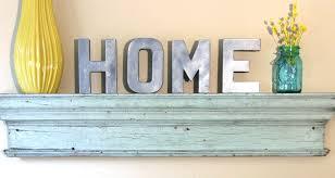 Home Decor Letters  MarceladickcomLetter S Home Decor