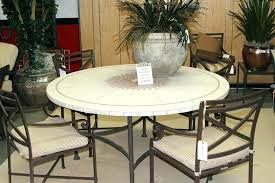 stone outdoor dining table stone top outdoor table round stone top patio table with seating for