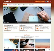 Business Portfolio Template Joomla Template Colorful Design For Business Portfolio