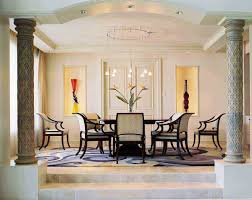 formal dining rooms with columns. column dining room interior design teebeard beautiful up level floor modern formal. books formal rooms with columns p