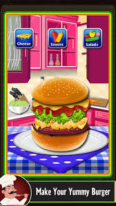 fast food maker fast food burger maker bbq grill food and kitchen game on the app