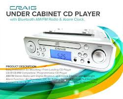 under cabinet radio with light awesome under cabinet bluetooth speaker under cabinet dab player kitchen of