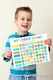 Individual Chore Chart Printable Chore Charts And Cleaning Games Messes To Memories