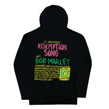 Bob Marley Redemption Song Pullover Hoodie