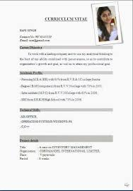 Formatting For Resume Delectable International Resume Format Free Download Resume Format Resumes