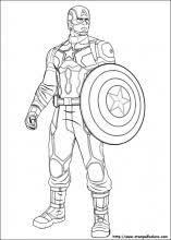 Disegni Da Colorare Di Captain America 2 Fredrotgans