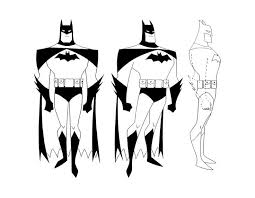 Small Picture Cartoon Concept Design Batman The Animated Series Model Sheets