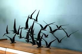 metal bird wall art lilasdogcarecom metal gold bird wall sculpture
