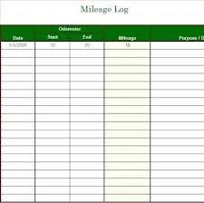 Mileage Calendar Template Vehicle Service Templates C Performance