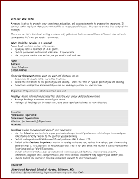 Tips On Resume Objective Statement