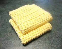 Easy Crochet Dishcloth Patterns Interesting How To Make A Crocheted Dishcloth Easy Pattern Using Half Double