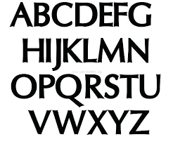 Templates Alphabet Letters Letters Of The Alphabet Template Metabots Co