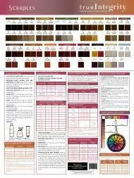 Scruples True Integrity Color Chart Color Delete 2010 Indd Scruples