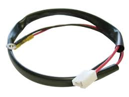 fx3300 series electric cooling fans integrated shrouds harness wiring pigtails spal fan amp style pigtail connectors