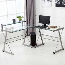 altra furniture aden corner glass computer desk elegant lovely glass altra furniture aden corner glass computer