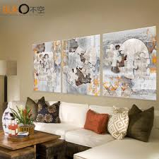 Metal Wall Decorations For Living Room Online Buy Wholesale Abstract Metal Wall Art From China Abstract