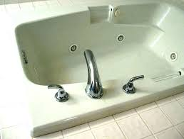 bathroom tub fixtures how to replace a two handle bathtub faucet delta single shower bath plumbing