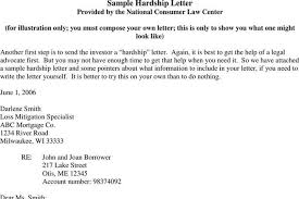 7 Sample Hardship Letter Free Download