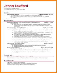 11 College Grad Resume Template Job Apply Form