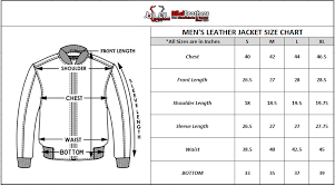 German Army Jacket Size Chart Bomber Leather Jacket Size Chart Mens Leather Jacket