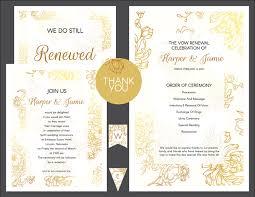Diy Vow Renewal Invitations Free Customizable Invitation Suites