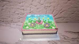 Tinkerbell Birthday Cake A870