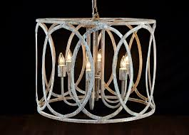 inspiring distressed chandelier rustic chandelier round white iron chandeliers with white candle lamp