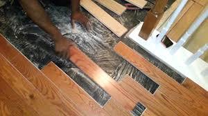 bad hardwood floor installation