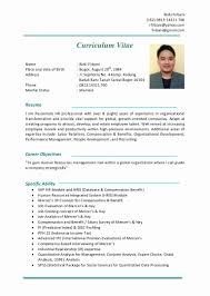 Hotel Management Resume Format Resume Format For Hotel Management Pdf Chef Experienced Trainee 15