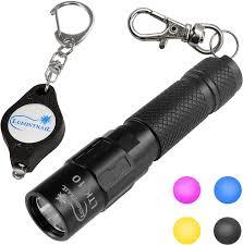 Lumintrail Keychain Light Lumintrail Keychain Flashlight 130 Lumen Led Magnetic Tail Reversible Pocket Clip And Bonus Light Black