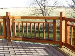 wood deck railing designs diy deck railing designs to match with the nuance of your space home design studio