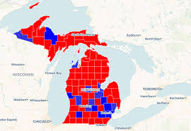 Map See How Gretchen Whitmer Rolled To Victory In Michigan