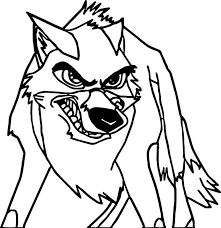 Very Angry Balto Coloring Page Coloring For Kids 2019