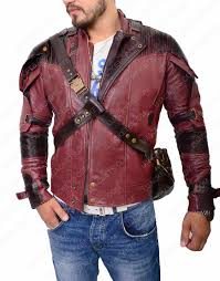 guardians of the galaxy 2 jacket star lord leather jacket