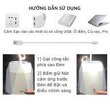 RẺ NHẤT SHOPEE] Đèn bàn học sạc tích điện có Giá để điện thoại - Đèn led  đọc sách chống cận cho trẻ học sinh - Đèn bàn