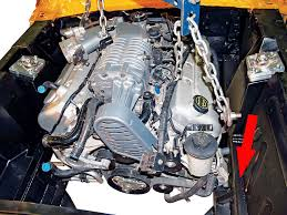 engine swap modern v 8 swaps made simple hot rod network this production version of the dvs sn 95 swap kit installs a 94