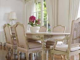 country dining room chairs. Dining Room:A Harmonious White French Country Room Furnitures Including Long Wooden Table, Chairs