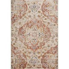 traditional medallion area rug