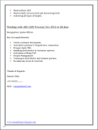 BPO Call Centre Resume Sample in Word Document - Resume Formats