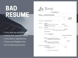 Good Resume Best Good Resumes Versus Bad Resumes