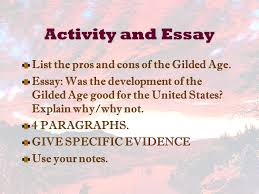what is the importance of a strong thesis statement essay american the progressive era