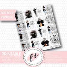 Fashion Girls Quotes Full Box Printable Planner Stickers For Use