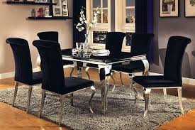 dining room tables seattle wa. coaster carone contemporary glam dining room set with upholstered chairs tables seattle wa w