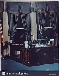 john f kennedy oval office. Portrait Of United States President John F. Kennedy At His Desk In The Oval Office White House Washington, DC On November 2, 1961. F
