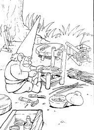 David Repareert Een Stoel Kleurplaat Jouwkleurplaten