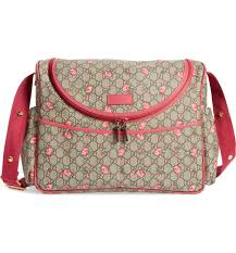gucci bags nordstrom. main image - gucci rose bud gg supreme diaper bag bags nordstrom m