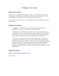 What Is The Purpose Of A Cover Letter Resume Cv Cover Letter