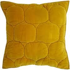 <b>Чехол на подушку</b> «Хвойное утро», квадратный, горчичный ...
